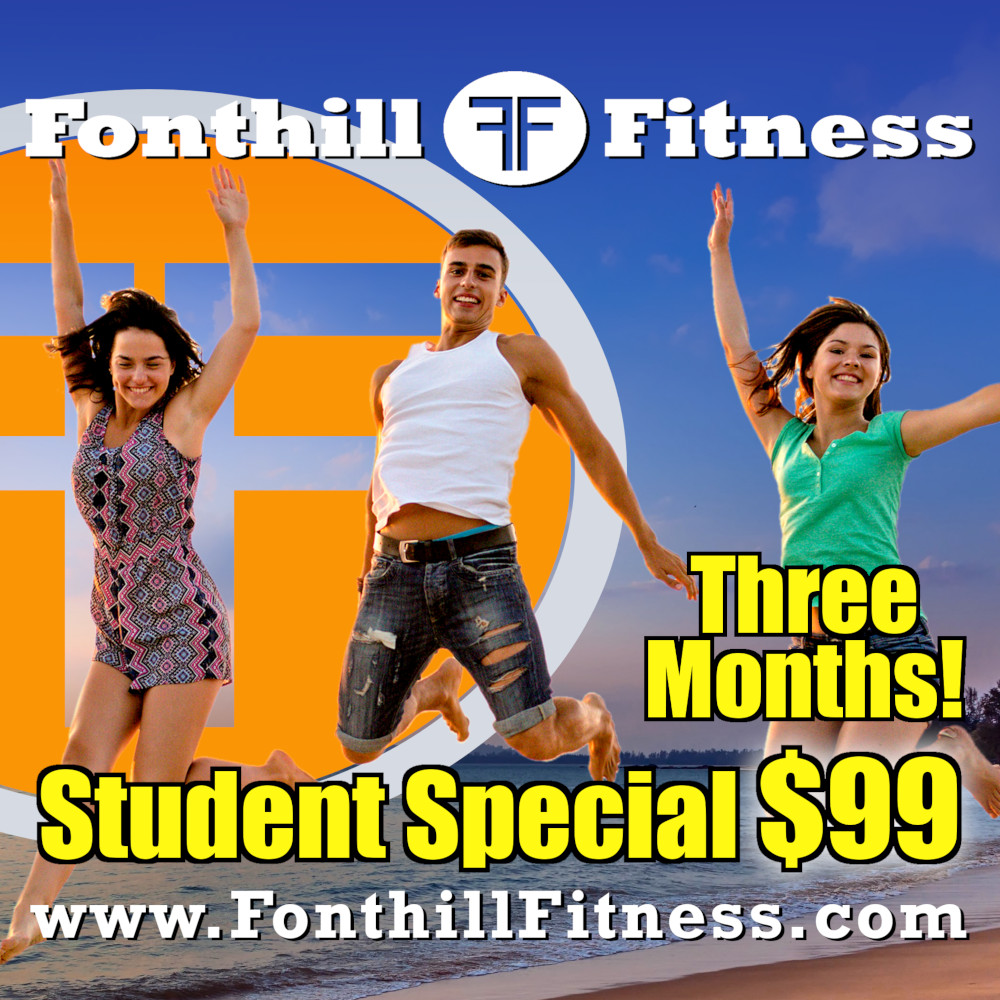 Student Special! 3 months for $99